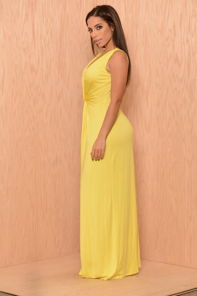 Crete Dress - Lemon