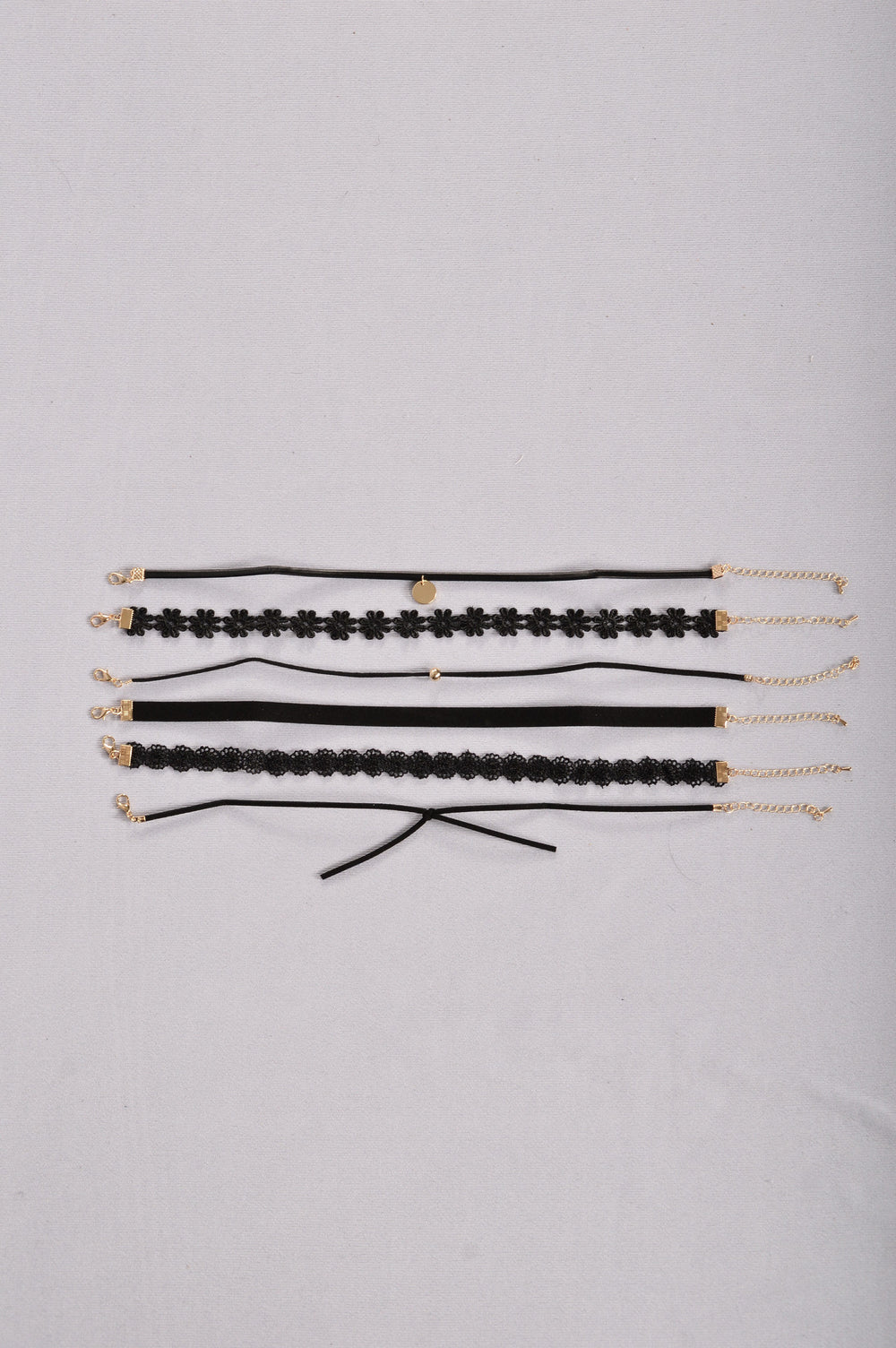 Simply The Best Choker Set - Black