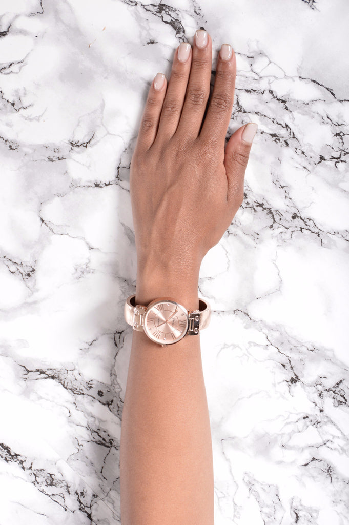 Don't Believe Me Just Watch - Rose Gold
