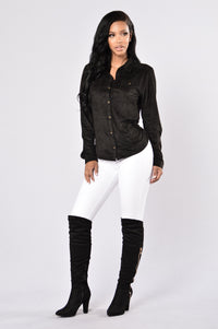 Simi Valley Blouse - Black Angle 4