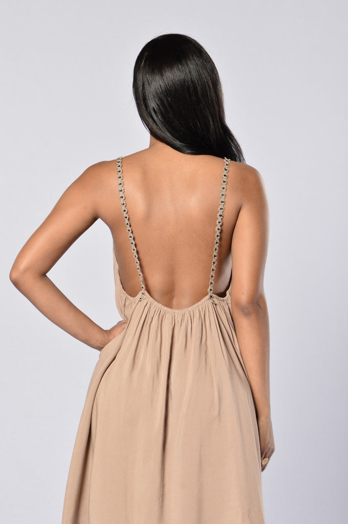 Playful Dress - Khaki (returning)