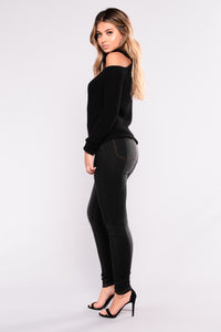 In The Mood Skinny Jeans - Black