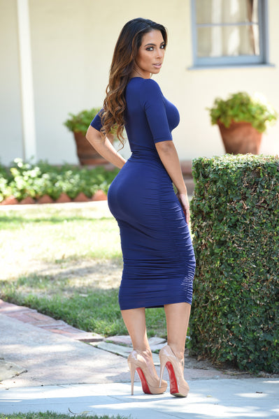 Karen Dress - Navy