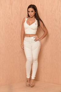 Rebel Pants - White Angle 6