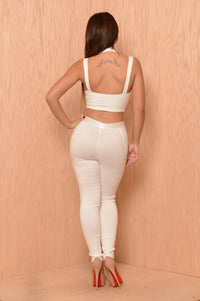 Rebel Pants - White Angle 7
