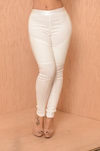 Rebel Pants - White Angle 3