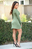 Kimberlee Dress - Olive