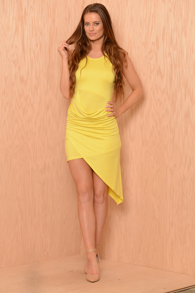Aileen Dress - Lemon