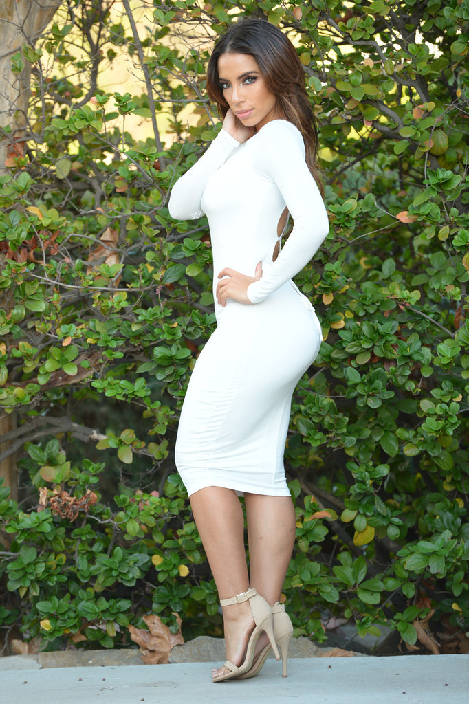 Patty Dress - Ivory