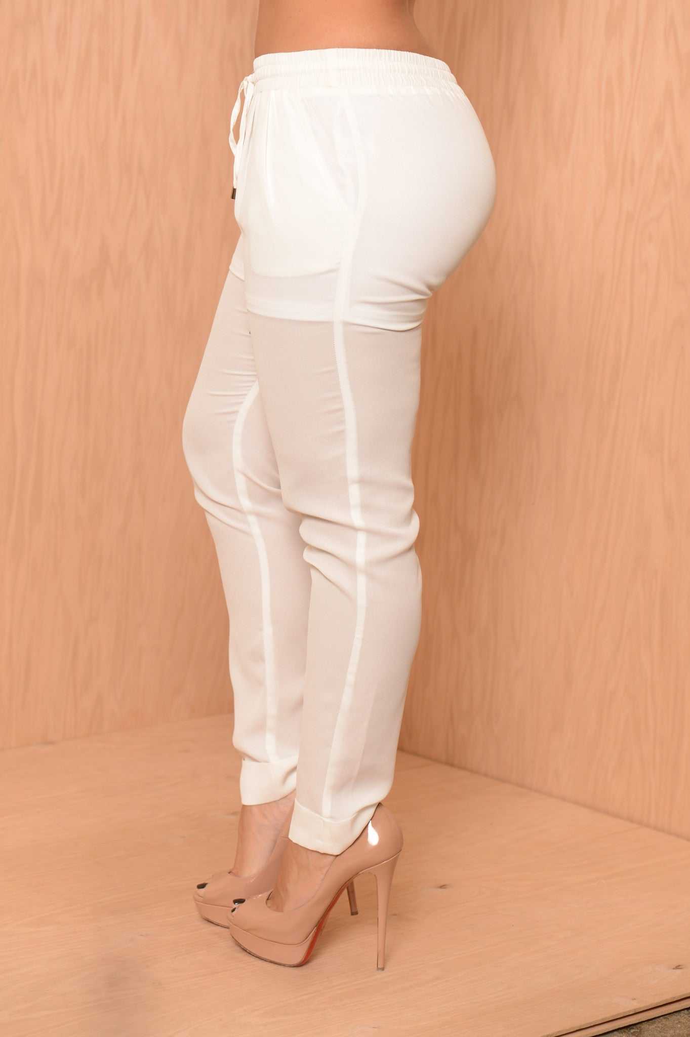 hammer time pants ivory