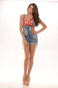 Sunflower Bandeau - Red
