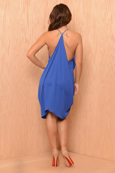Day Shift Dress - Royal