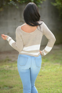 Dusk Sweater - Taupe