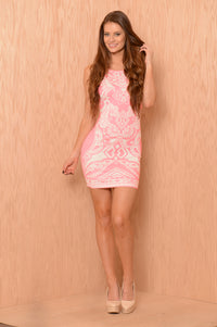 Brighten My Day Dress - Pink