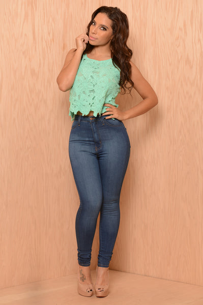 Sunday Funday Top - Mint