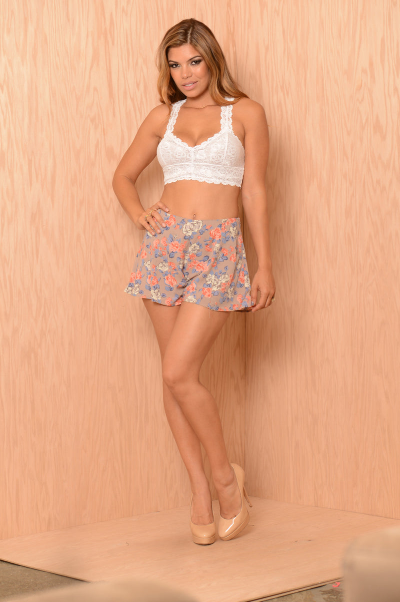 Arely Shorts - Dry Rose