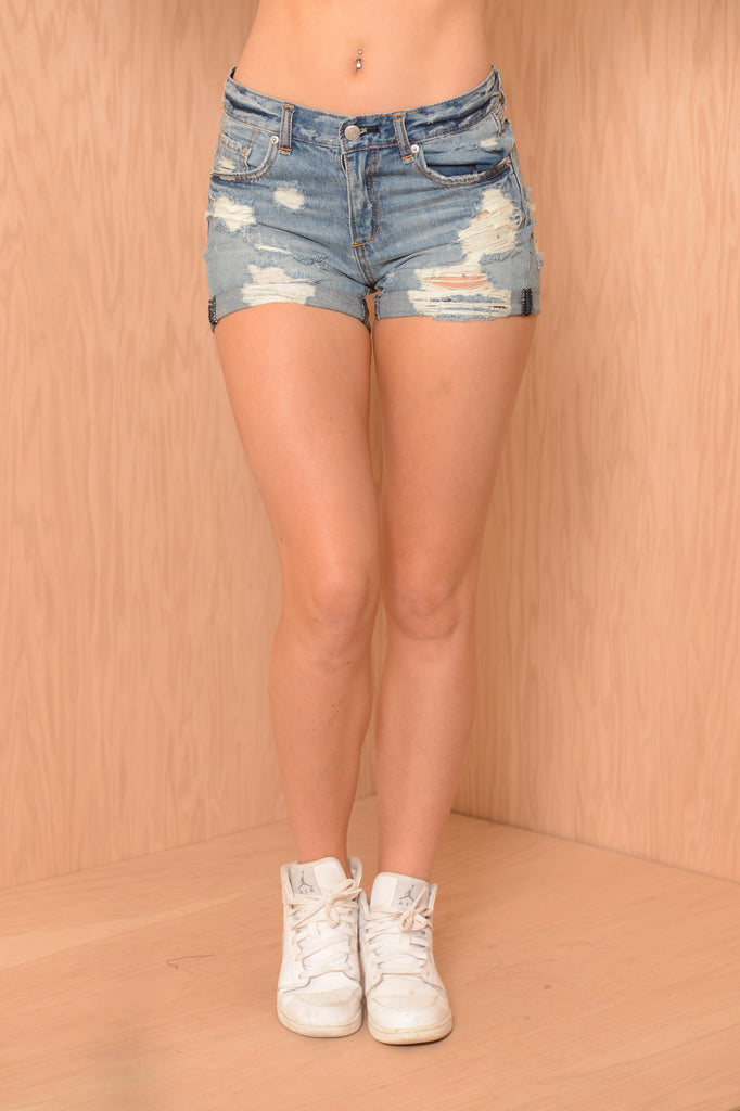 Stranded Shorts - Denim