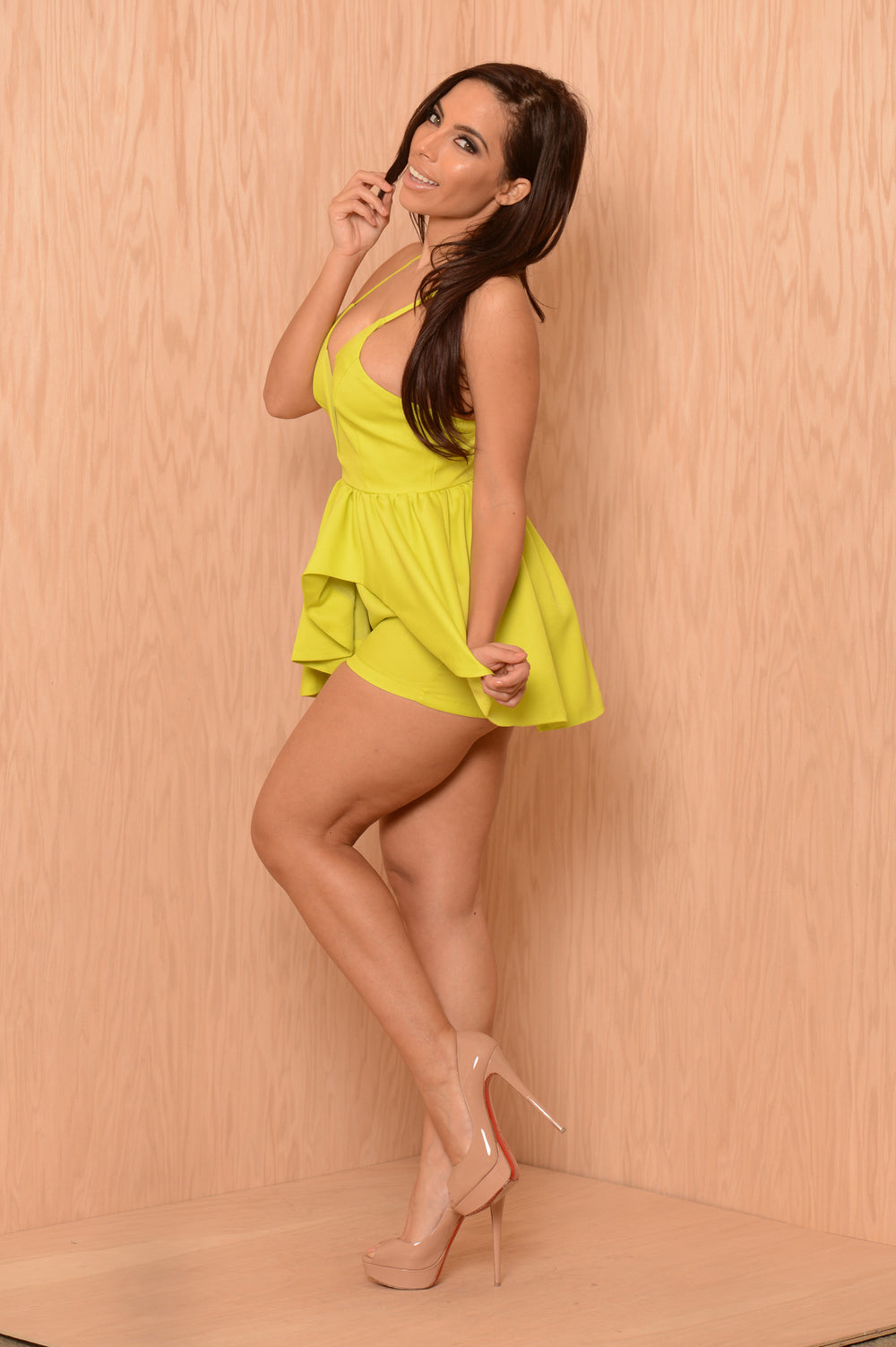 Sublime Romper - Lime