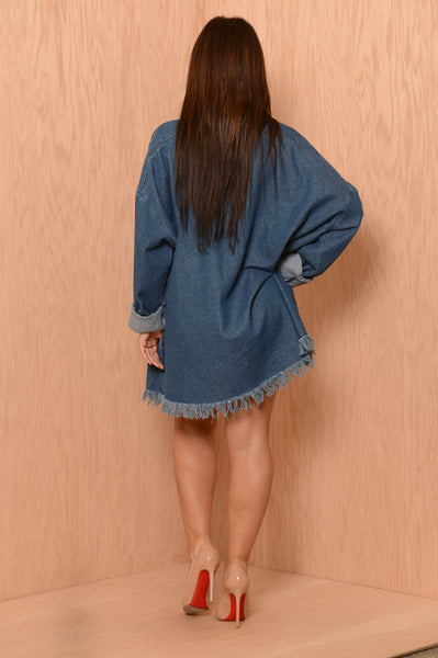Debby Tunic - Denim