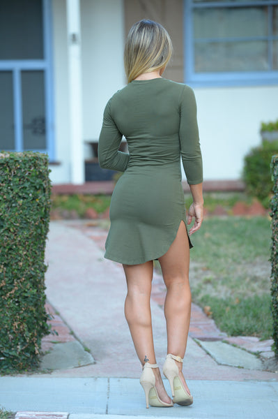 Tammy Tunic Olive Fashion Nova