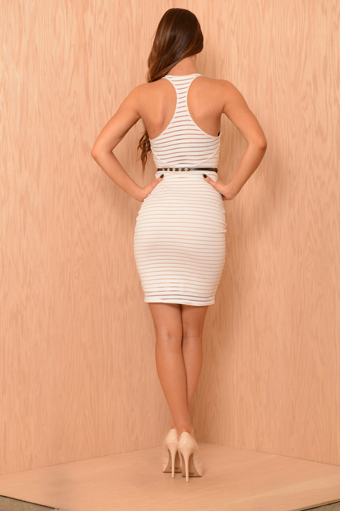 Shades Dress - Beige