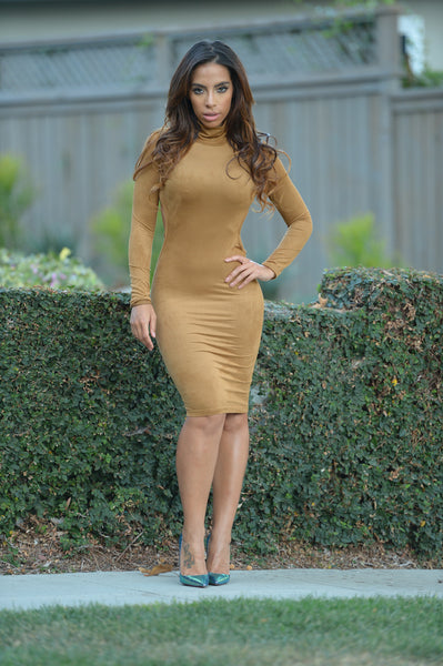 Soho Dress - Camel