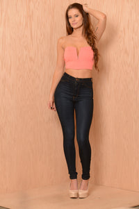 Pucker Top - Coral