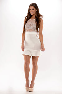 Not Rated Dress - White