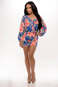 Sweet Nectar Romper - Royal Angle 1