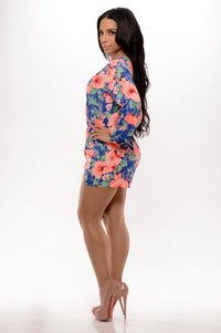 Sweet Nectar Romper - Royal