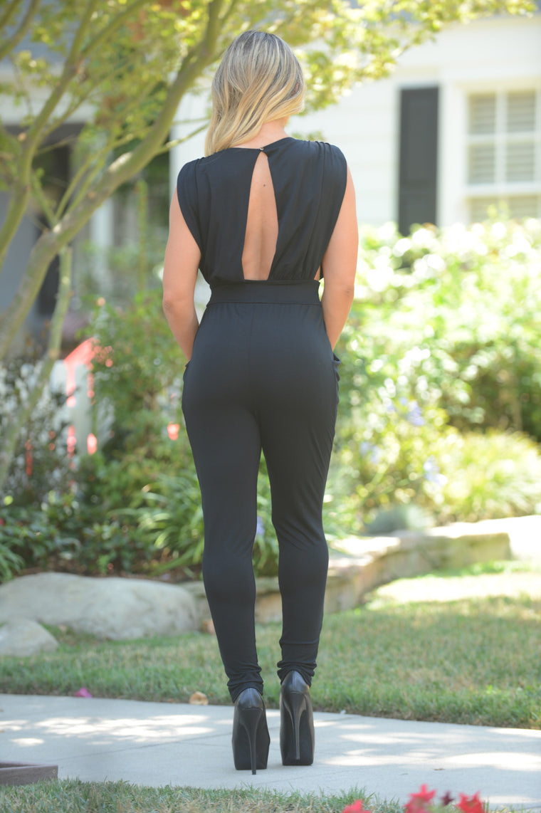 Jaelyn Jumpsuit - Black