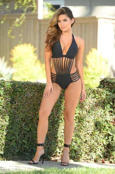 Love Lockdown Bodysuit - Black