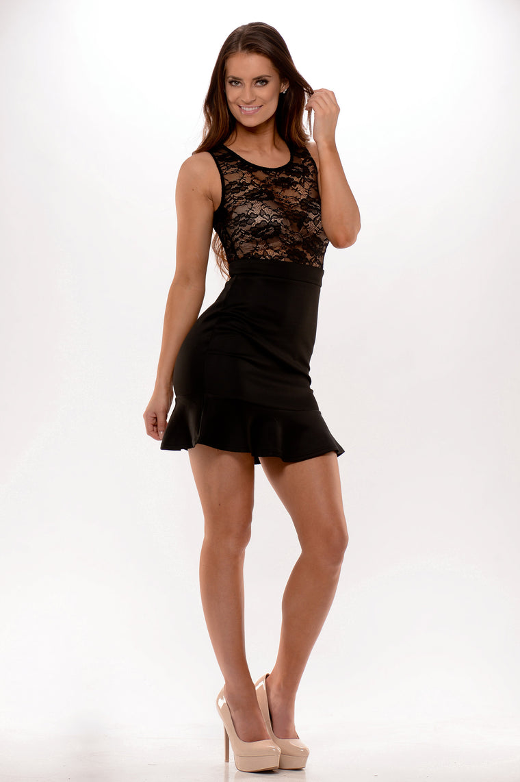 Not Rated Dress - Black