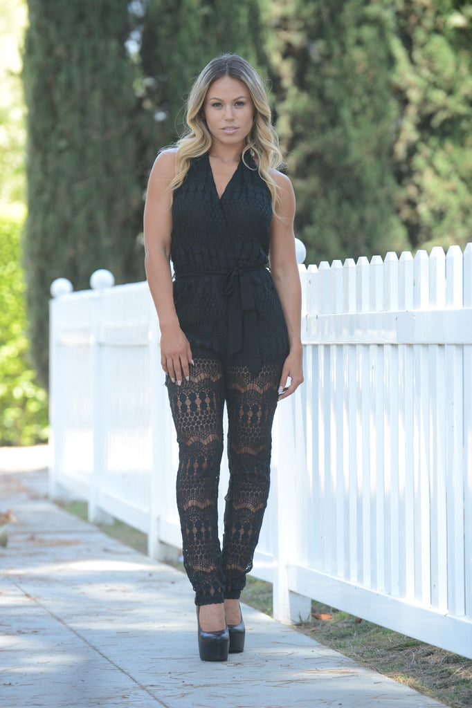Exotique Jumpsuit - Black