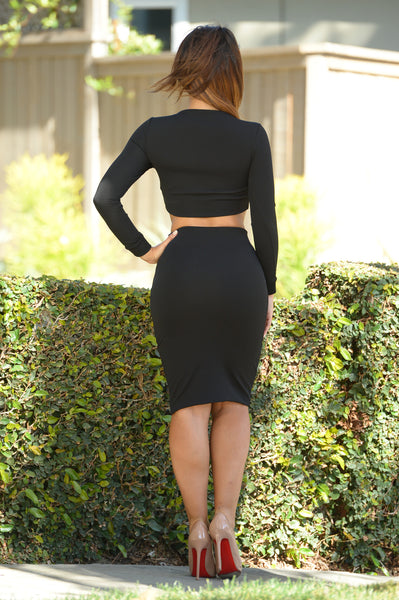 Roxbury Skirt- Black