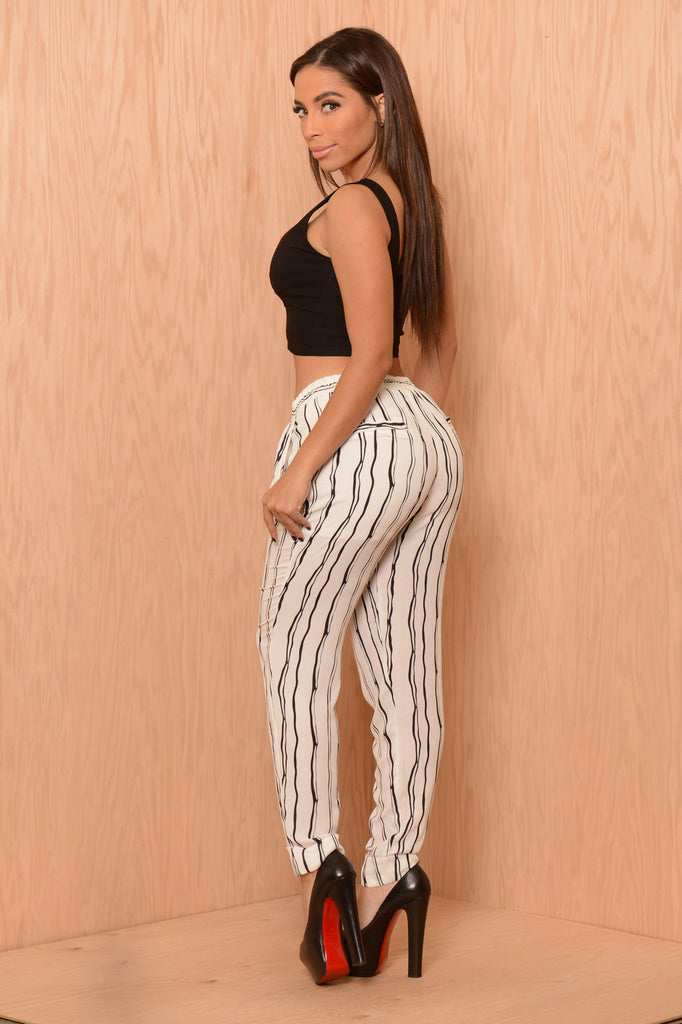 Risky Business Pants - White