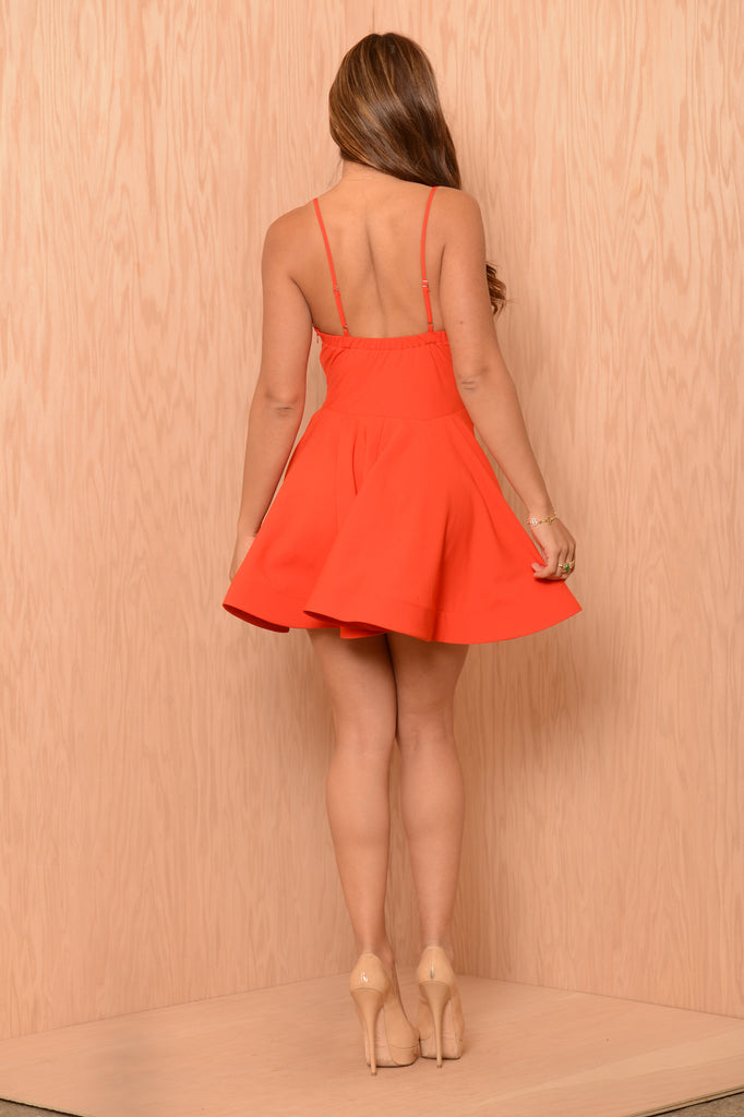 Gabriella Dress - Red