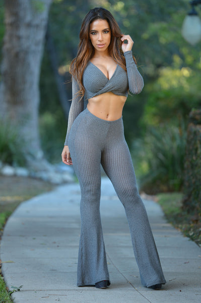 Bailey Pants - Grey