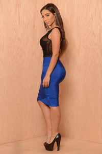 Lavish Skirt - Royal