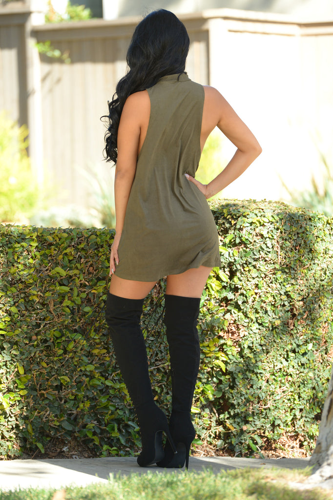 Free As A Bird Tunic - Olive