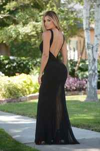 Charlize Dress - Black