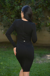 Like a Boss Dress - Black