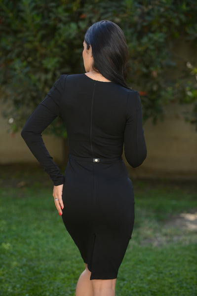 Like a Boss Dress -Black