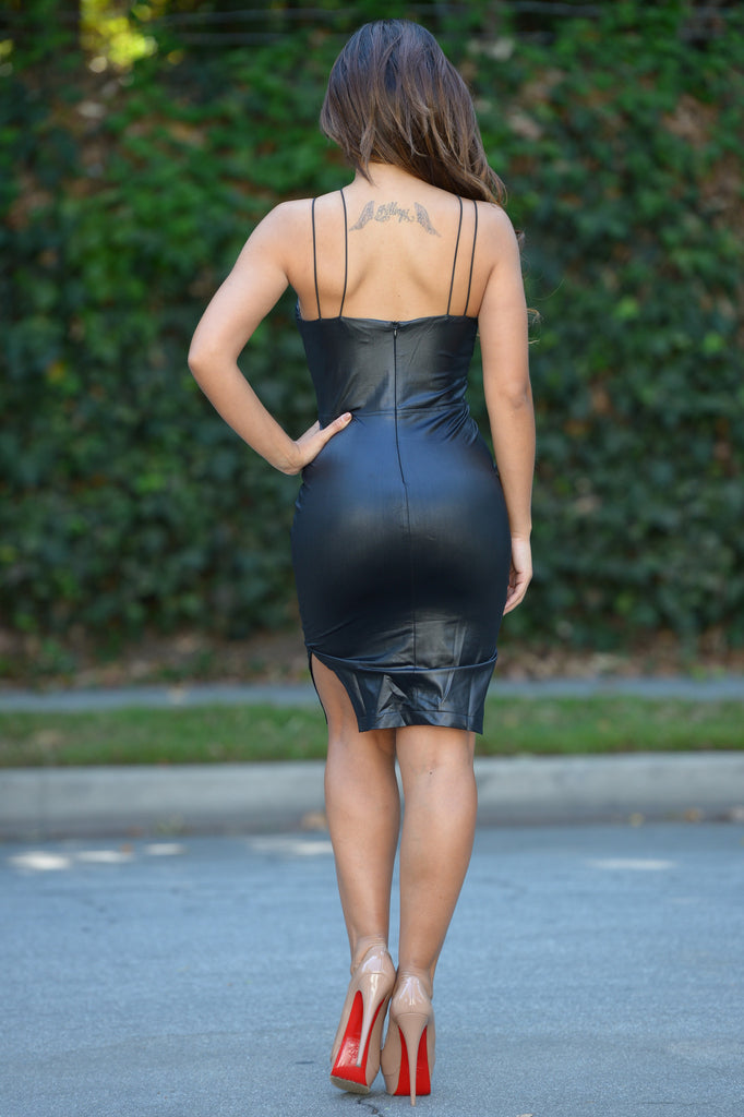 Foxy Lady Dress - Black