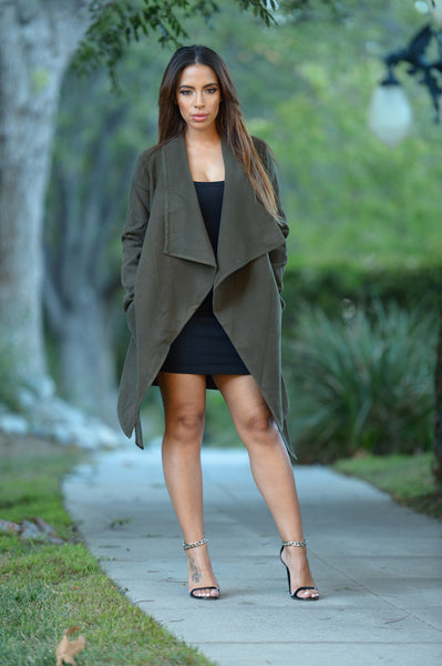 Manhattan Coat - Olive