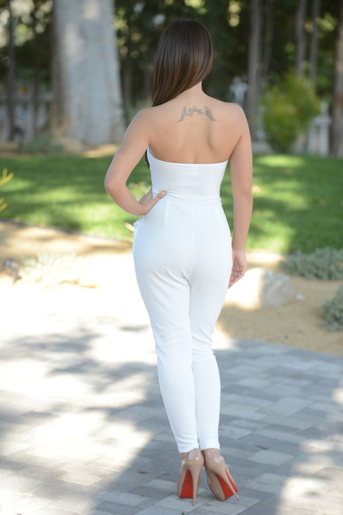Janet Jumpsuit - White