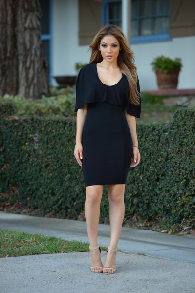 Cape Cod Dress - Black