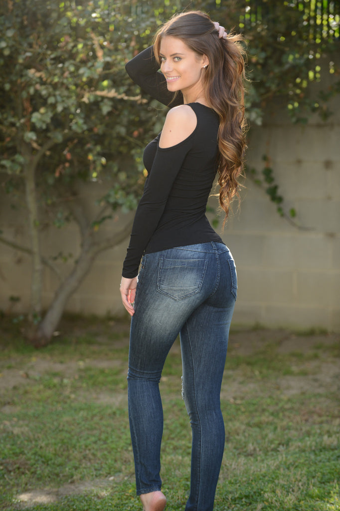 3rd Time's the Charm Jeans - Dark