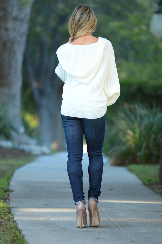 Lazy Sunday Sweater - Ivory