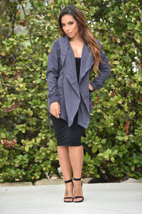 Embrace Jacket - Navy